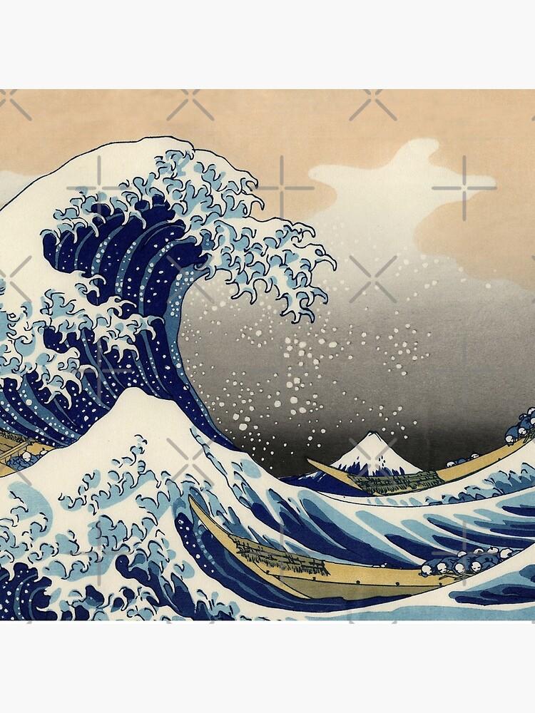 Great Wave Off Kanagawa  by dianegaddis