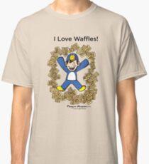 I Love Waffles! Classic T-Shirt