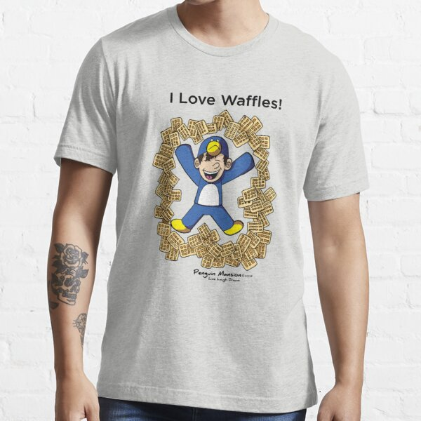 I Love Waffles! Essential T-Shirt