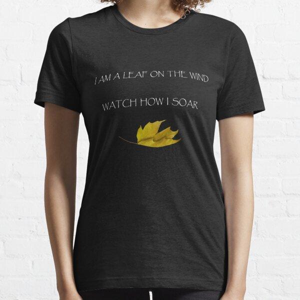 Leaf on the Wind (Dark) Essential T-Shirt