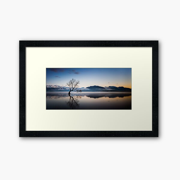 Winter Sunrise, Wanaka Framed Art Print