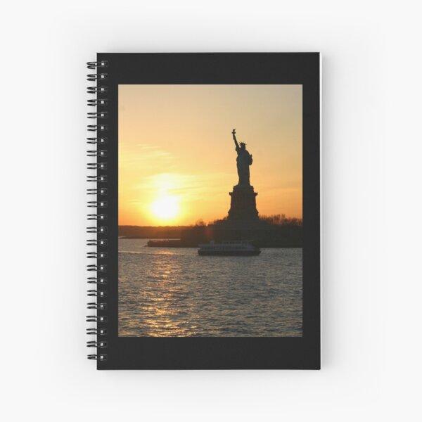 Lady Liberty 2 Spiral Notebook