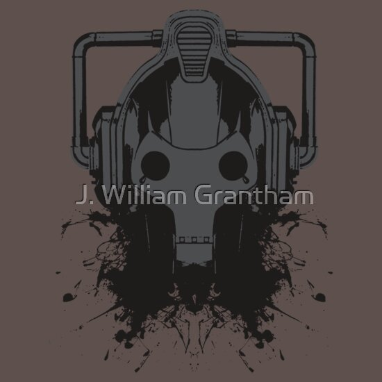 TShirtGifter presents: Dr. Who Cyberman T-shirt