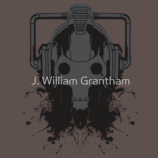 TShirtGifter presents: Dr. Who Cyberman T-shirt