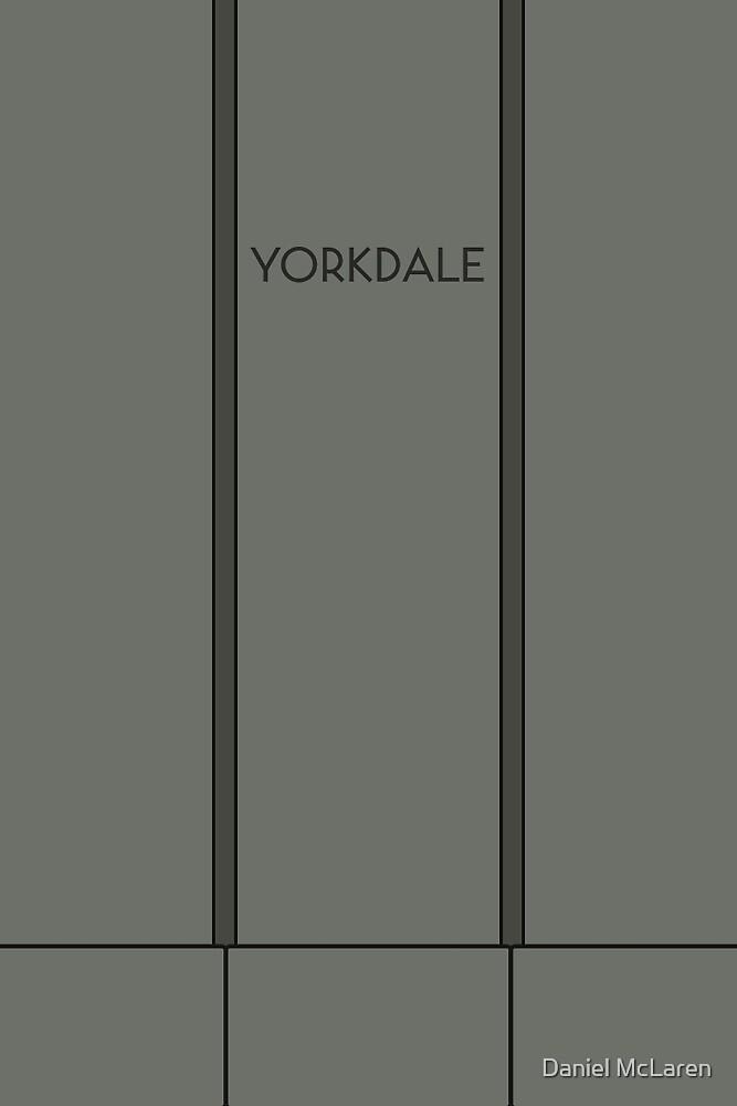 YORKDALE Subway Station by Daniel McLaren