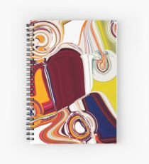 Game of Colors Spiral Notebook