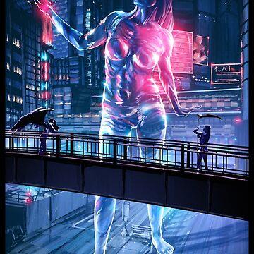 Glass Robot Illustration 011 by Sokoliwski