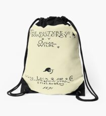 Picture of Dorian Gray 1809 Cover Drawstring Bag
