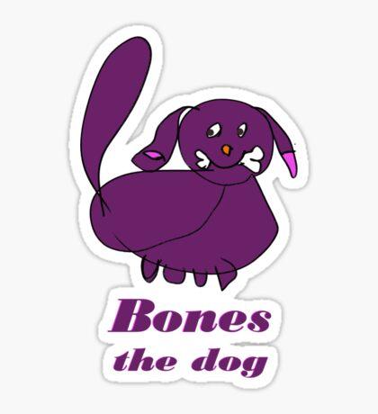 Bones the Dog Sticker
