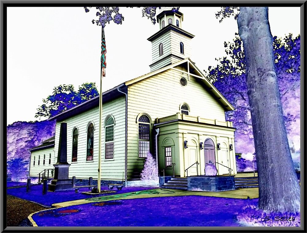 Abstract Church by Steven Selles