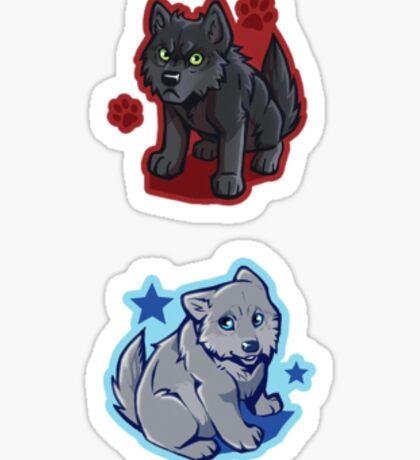 tiny iki and jera Sticker