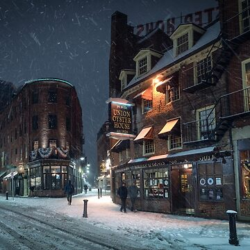 Boston in the Snow by mattmacpherson