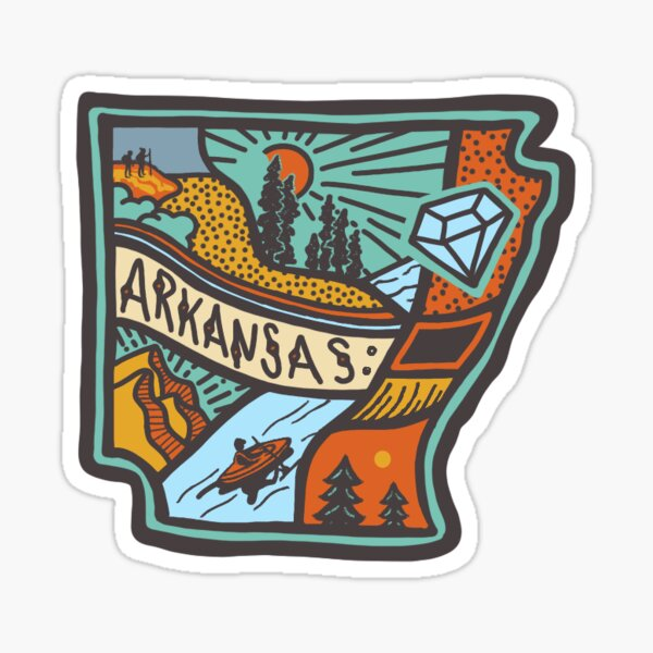 Arkansas State Sticker