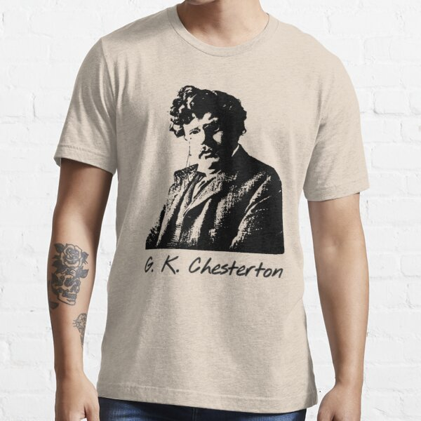 G. K. Chesterton for light background Essential T-Shirt