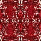 #abstract #pattern #decoration #design luxury artificial art red by znamenski