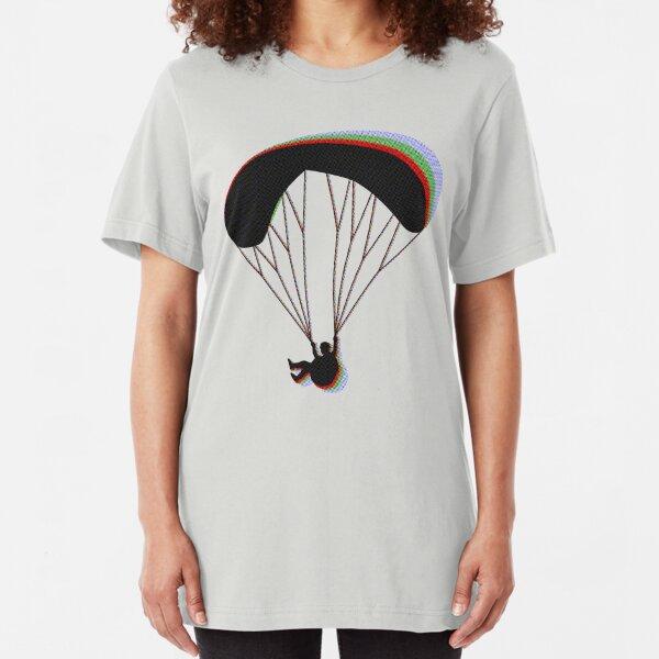 Paragliding RGB Slim Fit T-Shirt