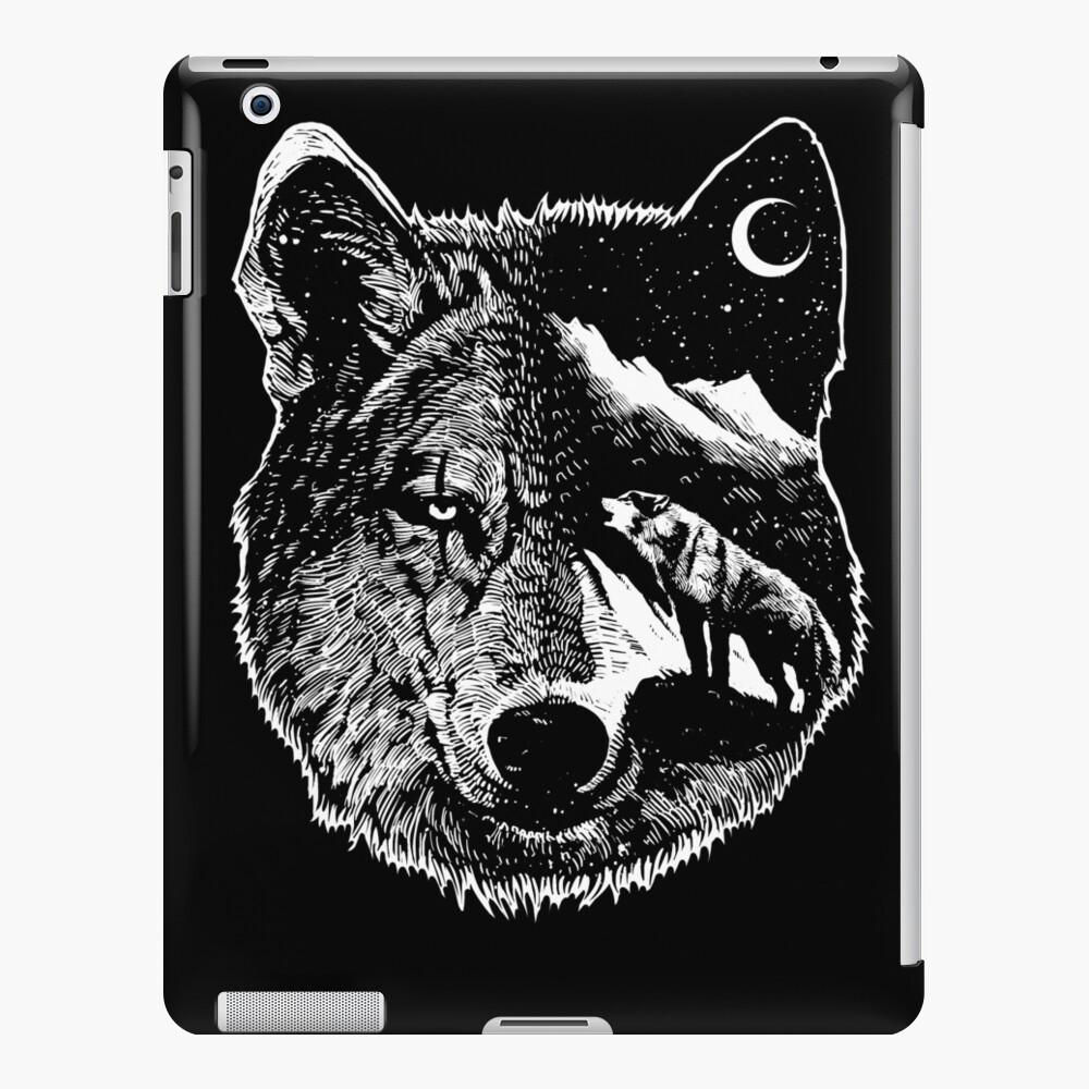 Night wolf iPad Case & Skin