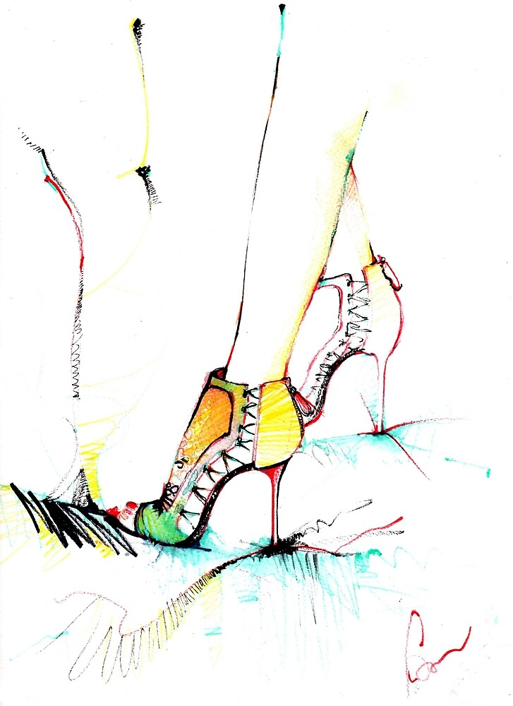 Shoes by Mariuca Calin