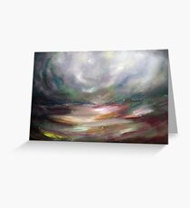 The eye of the storm Greeting Card
