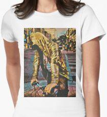 Golden Rider Women's Fitted T-Shirt