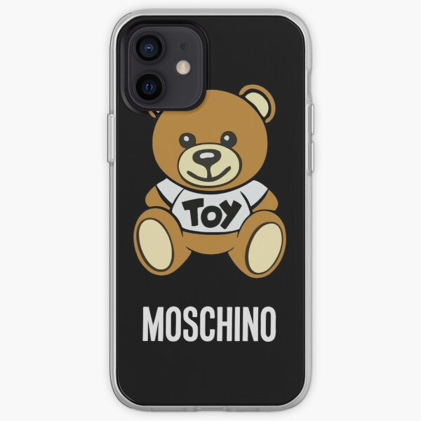 Moschino Toy Bear iPhone Soft Case
