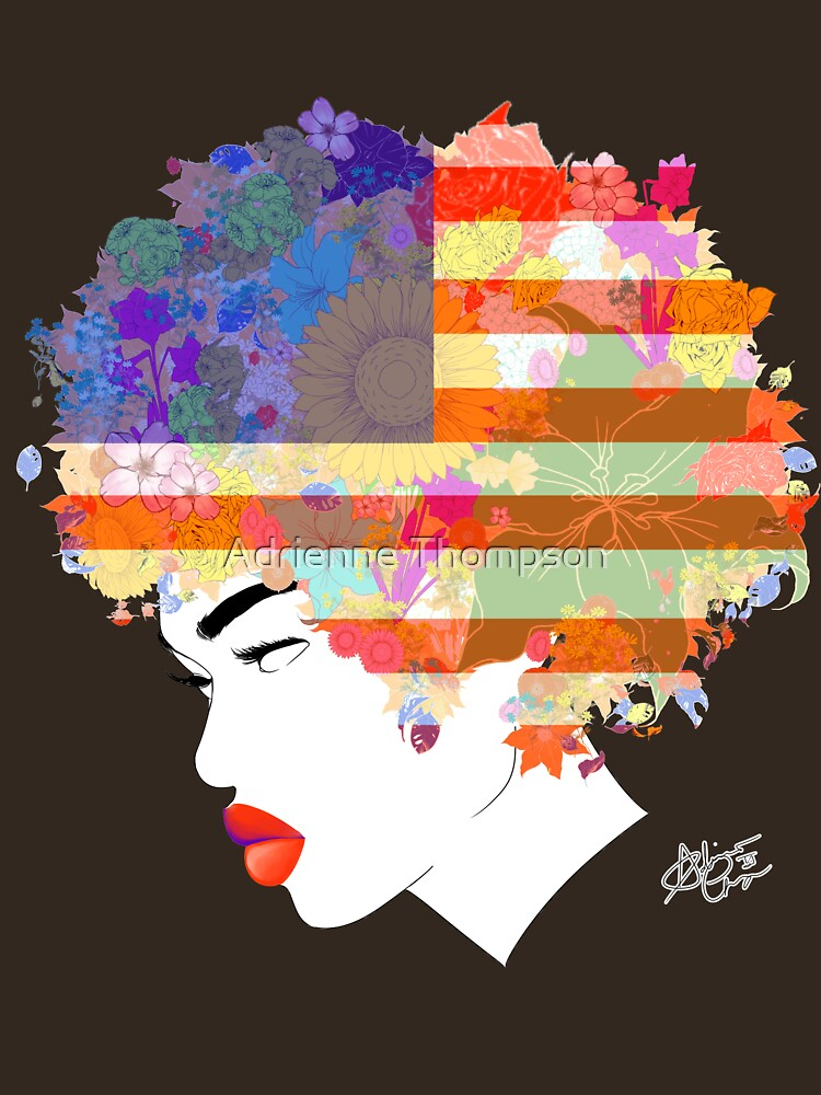 American Flower 'Fro ver. 3 by AndiesPlace
