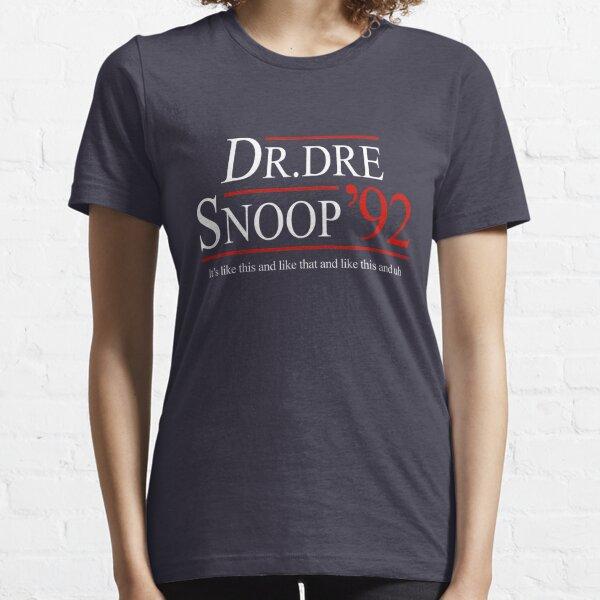Dr. Dre & Snoop for President 1992 Essential T-Shirt