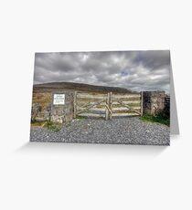 Burren National Park Greeting Card