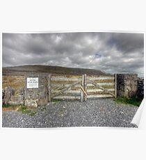 Burren National Park Poster