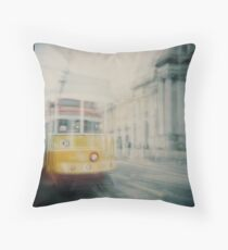 tram no.28 Throw Pillow