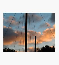 Mast light of the day Photographic Print
