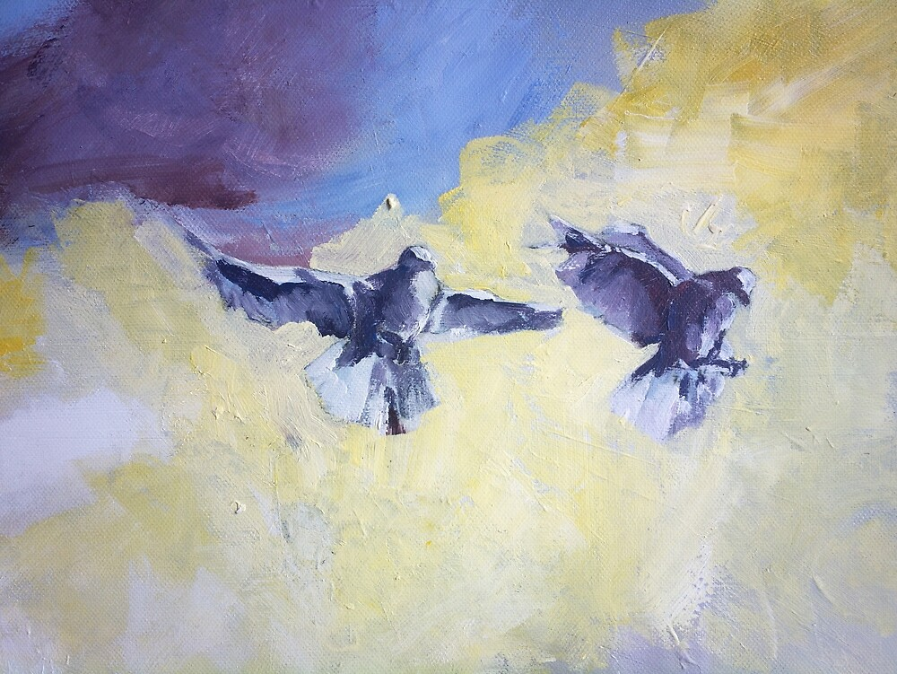 Sky Birds by ZlatkoMusicArt