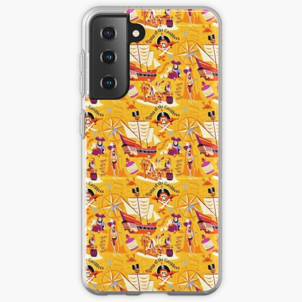 Pirates of a Caribbean Island Life for me Samsung Galaxy Soft Case