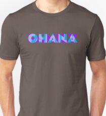 Ohana/Family - Blue & Purple Unisex T-Shirt
