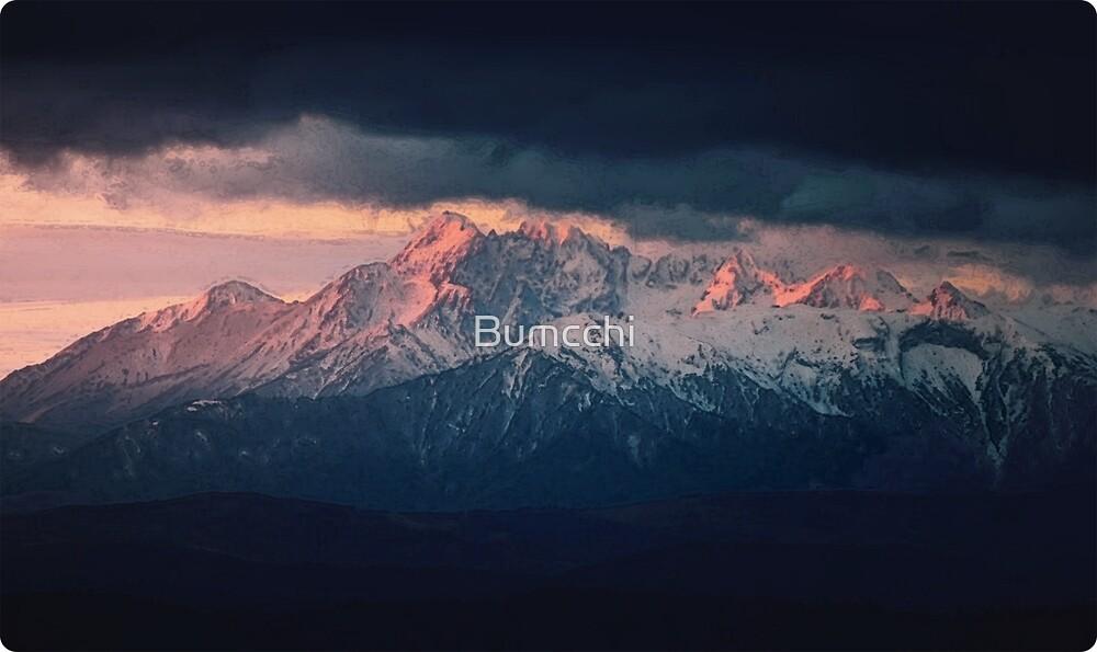 Mountain Sunrise - Photograph by Bumcchi