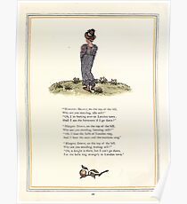 Under the Window Pictures and Rhymes for Children Edmund Evans and Kate Greenaway 1878 0026 Margery Brown Poster