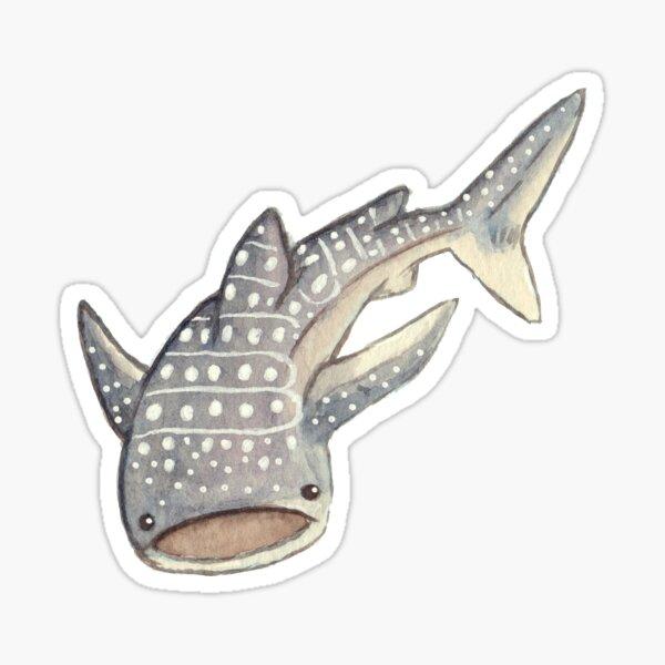 Whale Shark - Watercolour Sticker