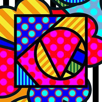 Lucky Love SQuare by Art-Frankenberg