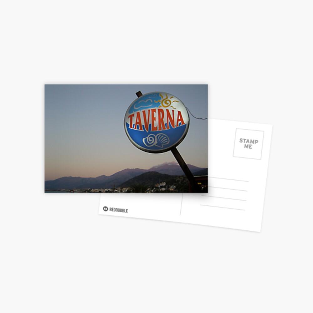 Taverna Postcard
