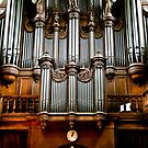 Historic organ by Alexander Meysztowicz-Howen
