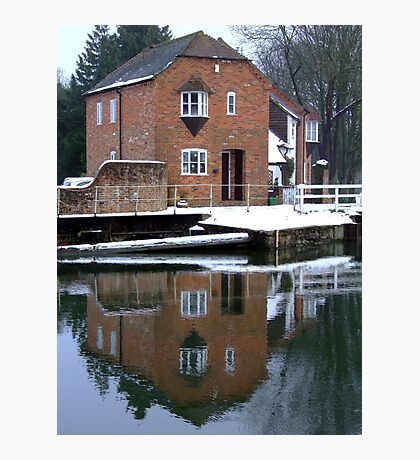 Reflections - Kennet and Avon Canal Photographic Print
