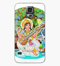 Saraswati - Hindu Goddess - Bunch of Bhagwans Case/Skin for Samsung Galaxy