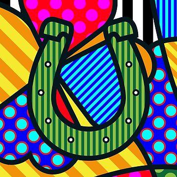 Lucky Horseshoe by Art-Frankenberg