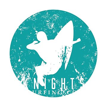 Knights Surfing Company Rip It Blue by chargeon