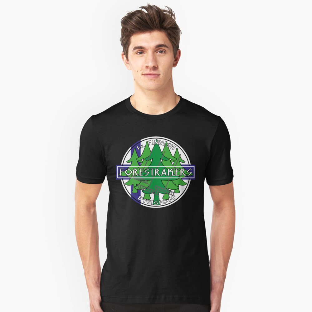 1st. finnish Forestrakers Division Unisex T-Shirt