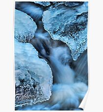 Ice Formations Poster