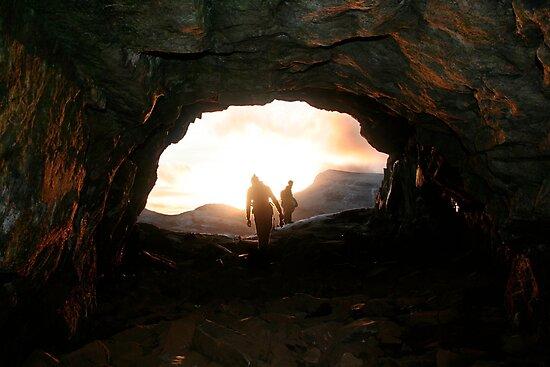 Sunset Cave by Veronica Ek
