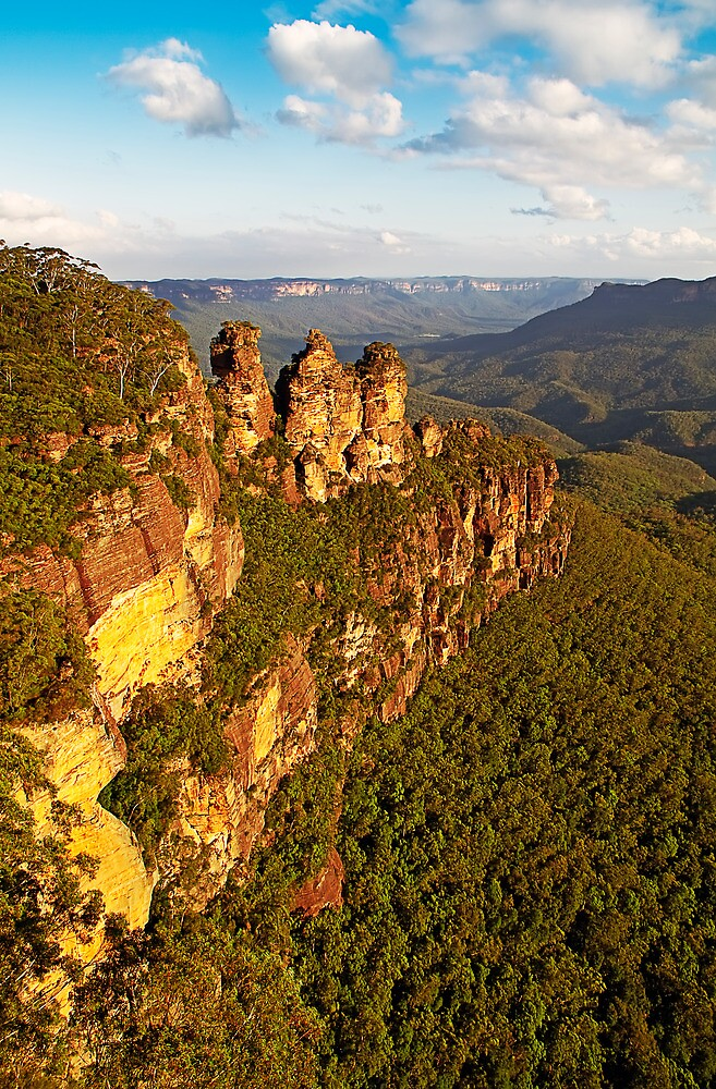 The Three Sisters, Katoomba, Blue Mountains by JoshuaStanley