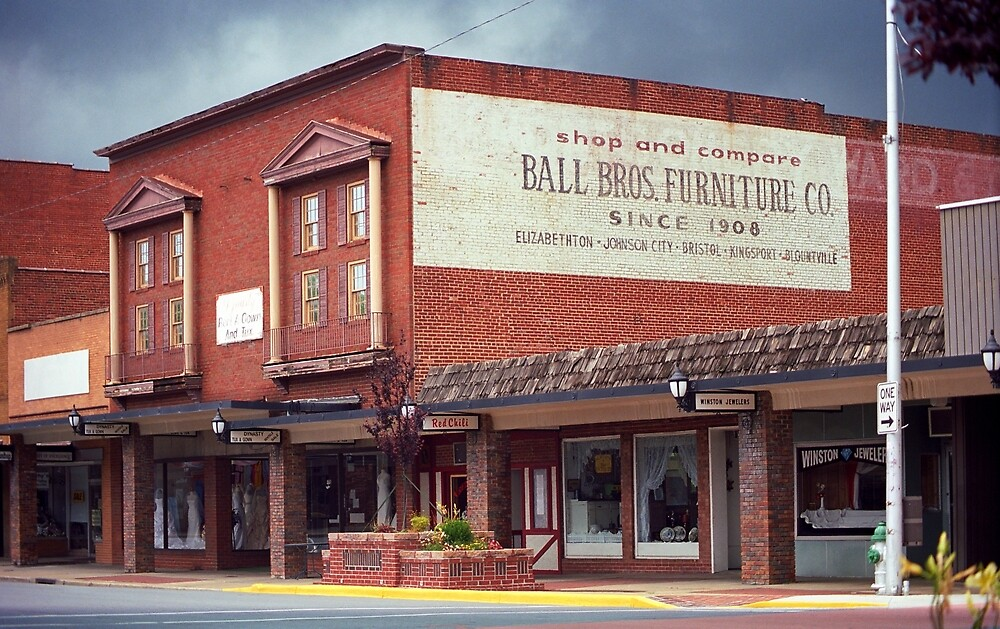 Elizabethton, Tennessee, Downtown, 2008 by Frank Romeo