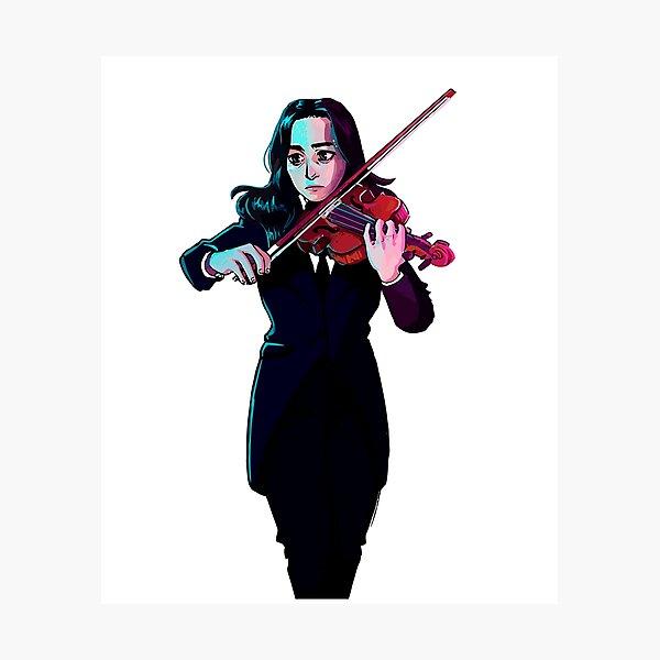 Vanya The White Violin Photographic Print